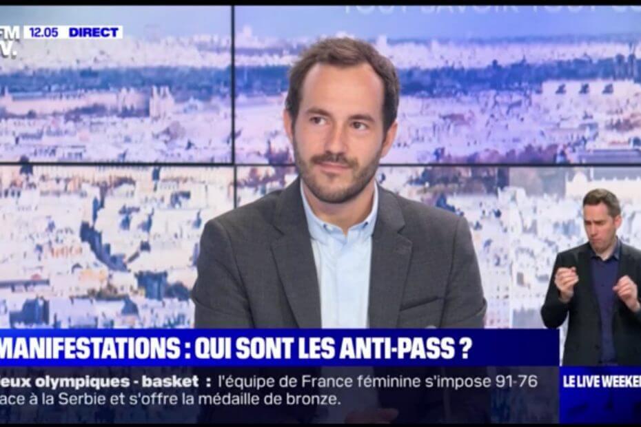 Théo Clerc avocat en droit public BFM TV